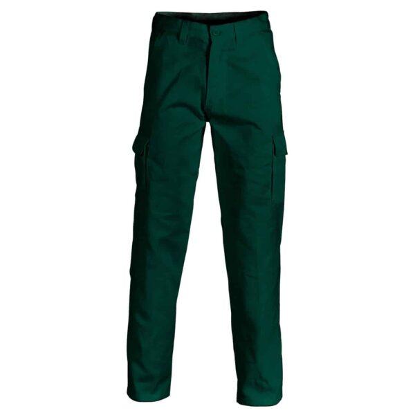 Cotton Drill Cargo Pants - pants