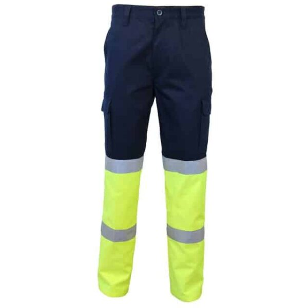 2 Tone Biomotion Taped Cargo Pants - pants