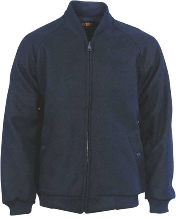 Bluey Jacket with Ribbing Collar & Cuffs - jacket