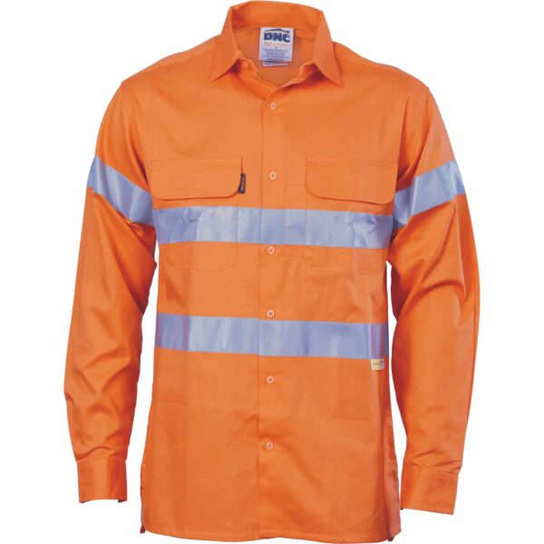 155gsm HiVis Shirt with Vents & Tape - hivis